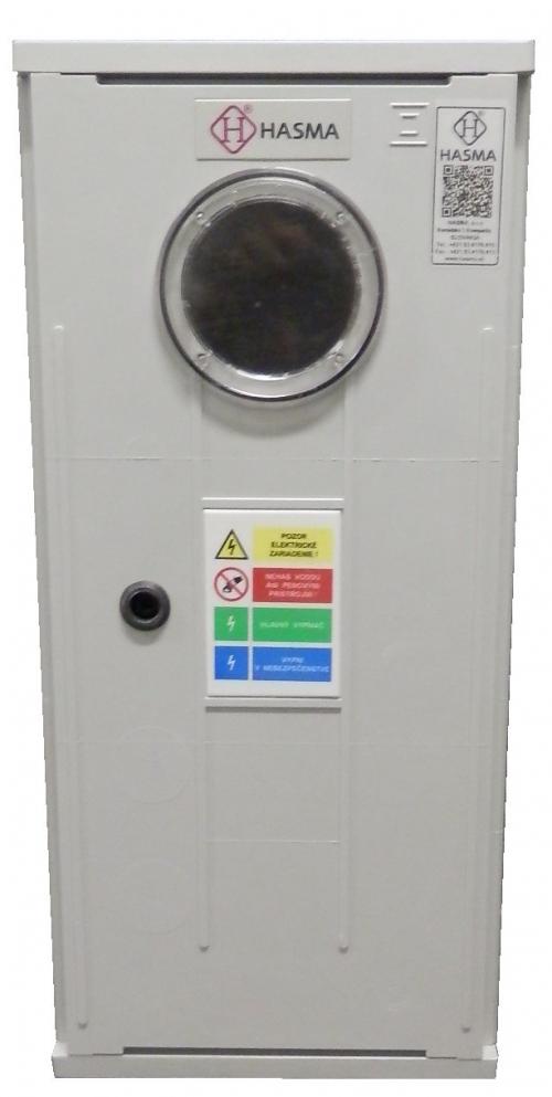 Elektromerový rozvádzač na a pod omietku so strieškou RE 2.0 P L W xxA P0, 3F, 1T, 25mm2, do 32A, Akcia