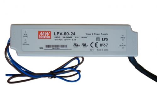 Vonkajšie osvetlenie LED – PRL 01 LED IP65, PRL 01 + driver