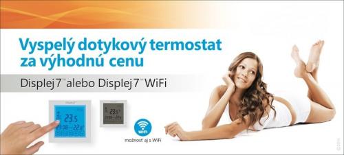 Inteligentný dotykový termostat – Displej 7™ WIFI