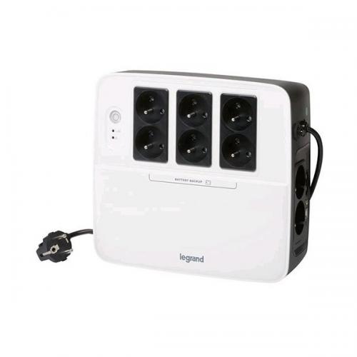 Spoľahlivý záložný zdroj – UPS Keor Multiplug, UPS KEOR MP 600 VA FR USB 310040