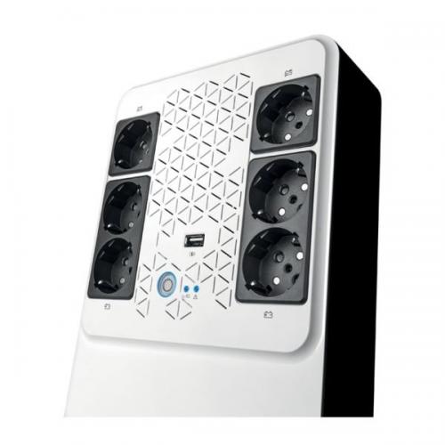 Nový záložný zdroj –  Keor Multiplug, Keor Multiplug UPS-KEOR MP 600 (310084)
