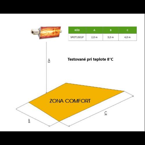 Infražiarič – VARMA SPOT 1,3kW