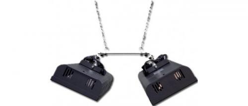 Konzola na strop pre radu V400 a 550, Model 110 pre vertikálnu inštaláciu
