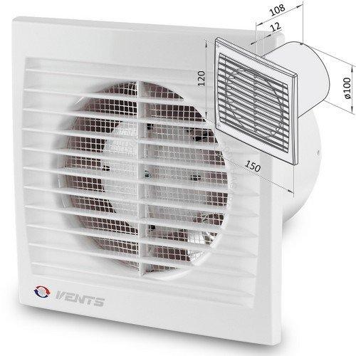 Ventilátor domový 100S