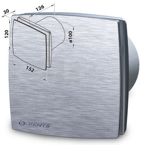 Ventilátor domový 100LDATL
