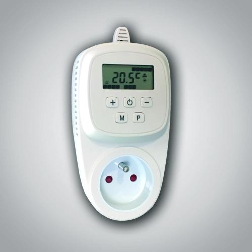 Zásuvkový termostat HT-600