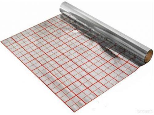 Reflexná hliníková folia pod podlahové kúrenie 1 x 50m